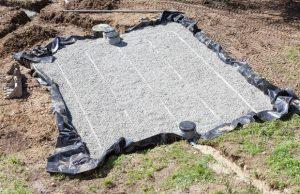 szambo betonowane na posesji