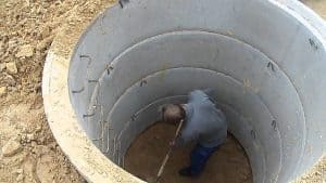przygotowanie szamba betonowego