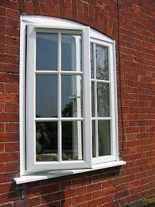 okna plastikowe białe