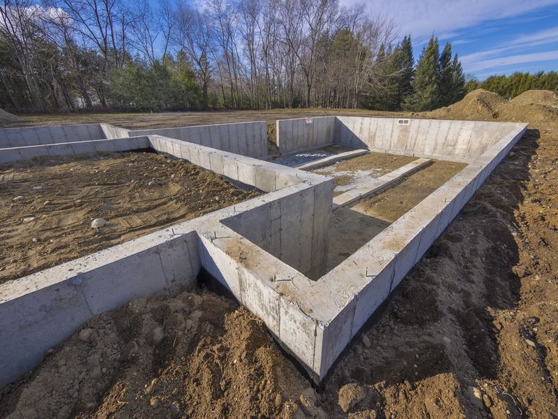 fundamenty budynku domu